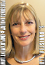 Sandra Banister, plaintiffs only personal injury and wrongful dismissal  lawyer in downtown Vancouver