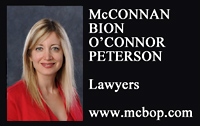 McConnan Bion OConnor Peterson firm name and photo of Charlotte Salomon, QC - with link to McBOP.com web site'