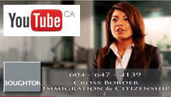 Saba Naqvi, Vancouver Canada and California USA immigration lawyer, multilingual in English & Urdu -  CLICK TO YouTube for her introduction