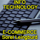 photo of computer keyboard, note Sorel Leinburd experienced in software development businesses
