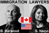 Vancouver business immigration lawyers Bruce Harwood & Saba Naqvi, Saba also practices USA immigration as a certified California attorney.