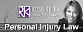Rose Keith, experienced as personal injury ICBC  claims disputes & brain injury lawyer