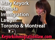 Mary Keyork, LLM, Canada Immigration Lawyer in Toronto and Montreal, fluent in English, French, Armenian and Spanish