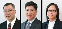 Wills lawyers:  Jeffrey Lowe, Robert Leong and Liticia Siu, fluent in English, Cantonese & Mandarin
