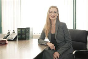 Jessica England, family-divorce lawyer on West Broadway, with WestsideFamilyLaw.ca