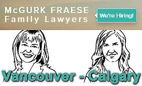 McGurk Fraese law corp based in Calgary  now opens new offices in downtown Vancouver, BC  and is hiring new lawyers and staff